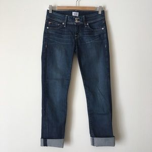 Hudson Cropped Jeans 26